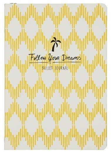 LWP Shop Hema Follow Your Dreams Defter Sarı